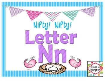 Nifty!  Nifty!  Letter Nn:  Nn Activities