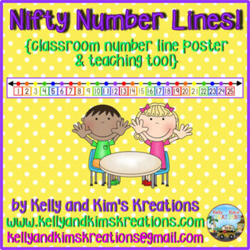 Nifty Number Lines! {classroom number line poster & teachi