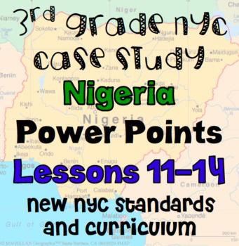 Niger Case Study Lessons 11-14