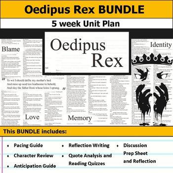 Oedipus Rex or Oedipus the King Unit Bundle