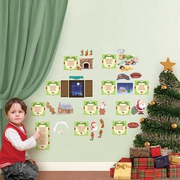 Night Before Christmas Interactive Wall Play Set + Downloa