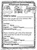 Meet The Teacher Day Parent Freebie Resource: The Night Be