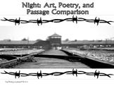 Night Elie Wiesel Close Read Theme Activities