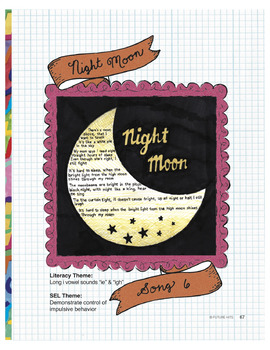 Night Moon (Long i vowel sounds ie and igh words) - use fo