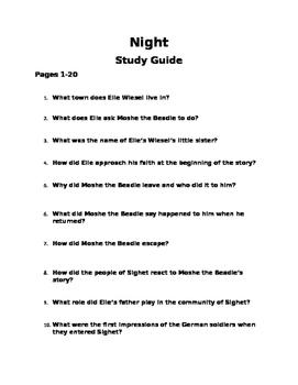 Night Study Guide