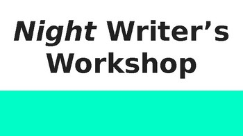 Night Writing Workshop