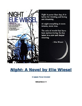 Night by Elie Wiesel (Lesson Plans)