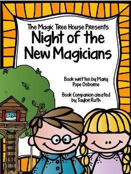 Night of the New Magicians Book Companion: Magic Tree Hous