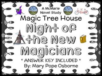 Night of the New Magicians : Magic Tree House #35 Novel St