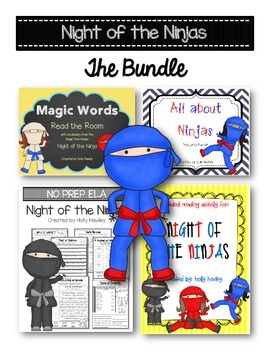 Night of the Ninjas The Ultimate BUNDLE