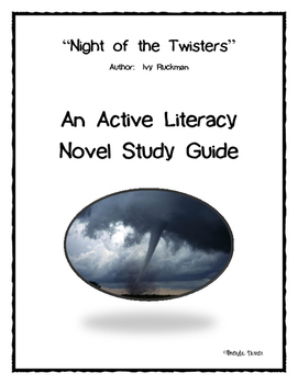 Night of the Twisters Active Literacy Novel Study