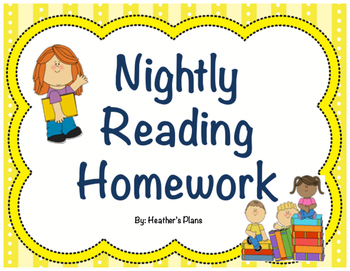 Nightly Reading Homework