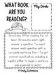 Test Prep - Reading-Response Booklet (Fourth Grade)