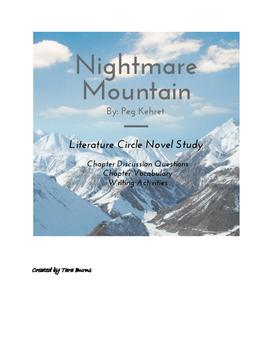 Nightmare Mountain Novel Study Pack