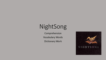Nightsong Picture Book Review