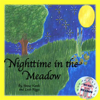 Nighttime in the Meadow Ebook, with lyrics