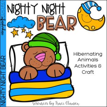 Forest Habitat - Hibernating Writing and Craft Activity -