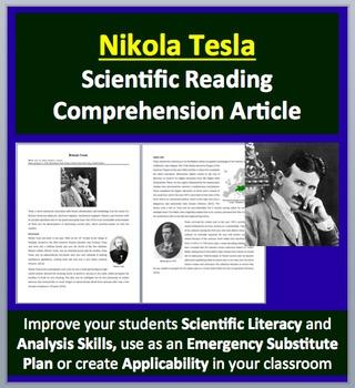 Nikola Tesla - A Famous Scientist Reading