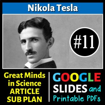 Nikola Tesla - Great Minds in Science Article #11 - Scienc