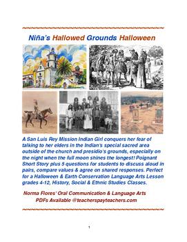 Niña's Hallowed Grounds Halloween Story