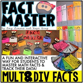 Ninja Fact Master:  Multiplication and Division Fact Fluency