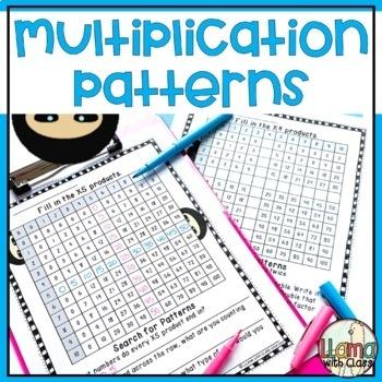Finding Multiplication Patterns on Multiplication Chart