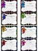 Ninja Themed Punch Card Pack