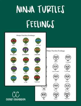 Ninja Turtle Feelings Chart