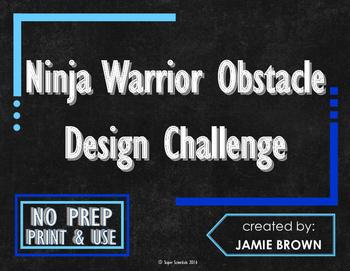 Ninja Warrior Obstacle Design Challenge