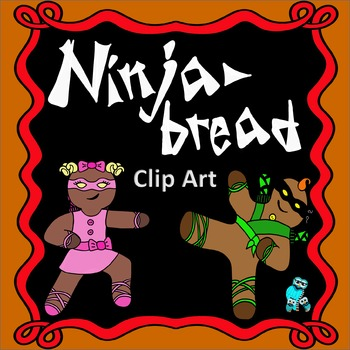 Ninjabread Gingerbread Clip Art