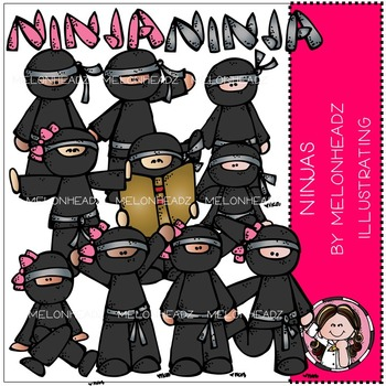 Ninjas by Melonheadz COMBO PACK