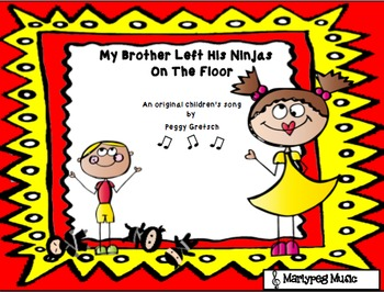 Ninja Song/Novelty/Humorous Choir Song Grades 3-6