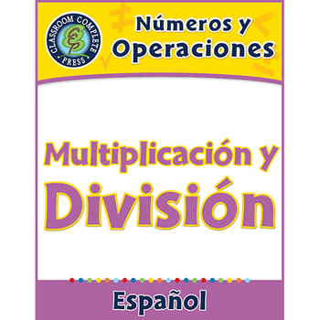 Números y Operaciones: Multiplicación y División Gr. 3-5