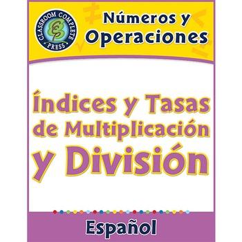 Números y Operaciones: Índices y Tasas de Multiplicación y