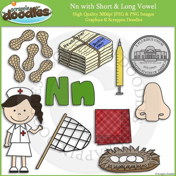 N Short and Long Vowel