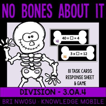 No Bones About It - Muliplication and Division - 3.OA.4