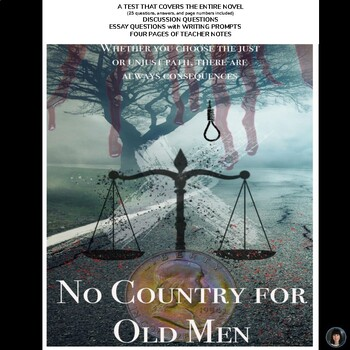No Country for Old Men (Cormac McCarthy): test; essay ques