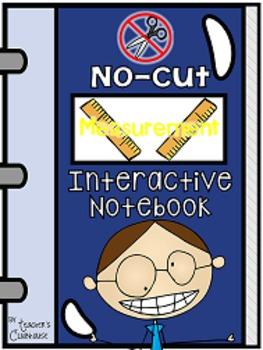 No-Cut Interactive Notebook {Math}: Measurement Edition