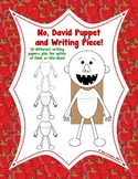 No, David!  Puppet Craft and Writing Piece! Perfect for Ba