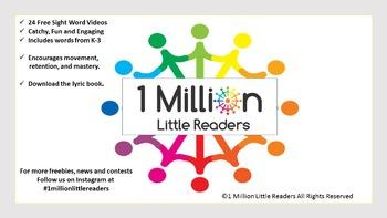 1 Million Little Readers Presents  Sight Word Mastery Vide