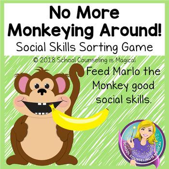 No More Monkeying Around: A Social Skills Sorting Activity