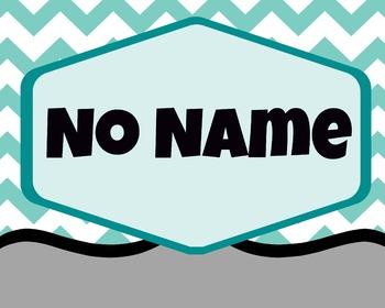 No Name Board Cover
