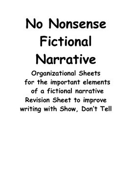 No Nonsense Fictional Narrative