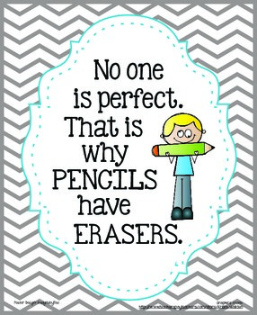 No One Is Perfect…