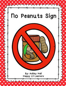 No Peanuts Sign