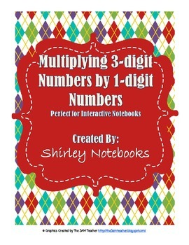 No Prep - 3-Digit by 1-Digit Multiplication Skills Interac
