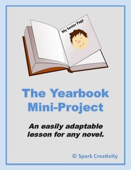 No-Prep Adaptable Yearbook Project for Any Novel, ELA 6-10