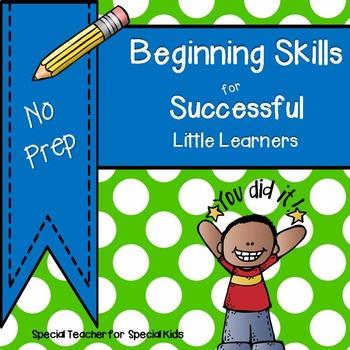 ** Beginning Skills Book*** No Prep***