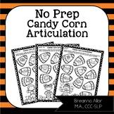 No Prep Candy Corn Articulation
