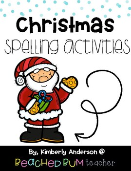 No Prep Christmas Word Work - Word Study / Spelling / Sight Words